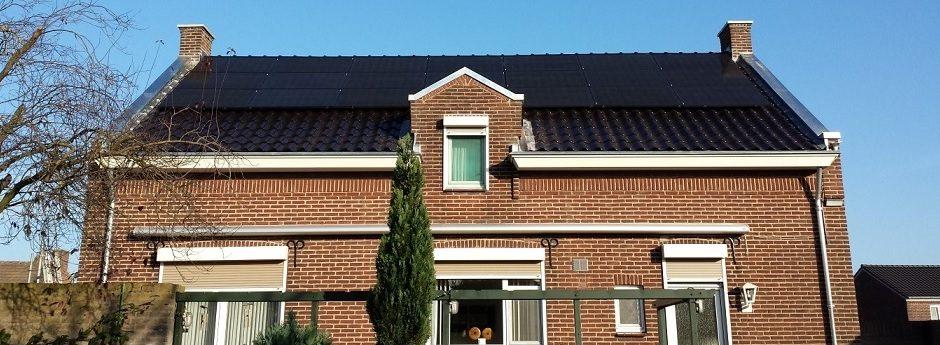 Renovatie van pannen daken